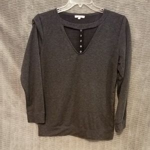 Unique long sleeved top from Maurices